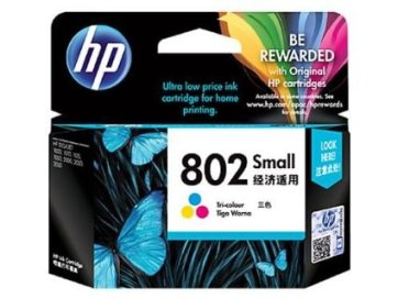 hp 802 colour small